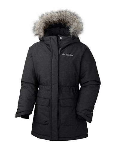 Columbia Nordic Strider Faux Fur-Trimmed Jacket-BLACK-X-Small