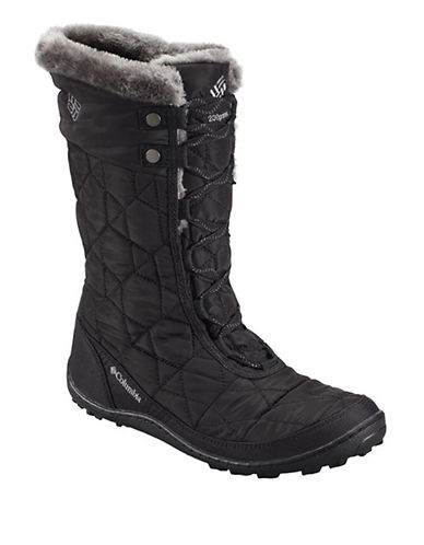 Columbia Minx Omni-Heat Boots-BLACK-8.5