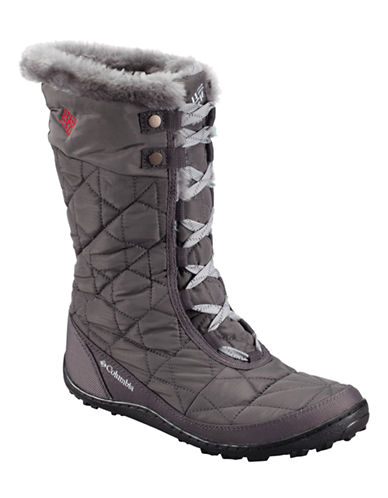 Columbia Minx Mid II Omni Heat-GREY-8.5