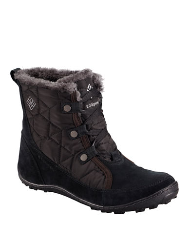 Columbia Minx Omni-Heat Shorty Boots-BLACK-9