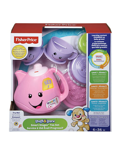 Fisher Price Laugh and Learn Smart Stages Tea Set - English Version-MULTI-One Size
