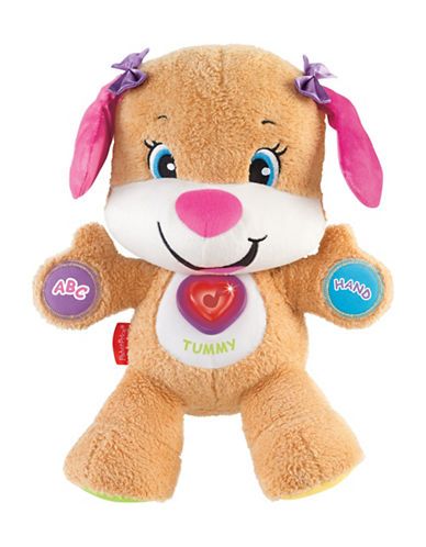 Fisher Price Laugh and Learn Sis Plush Toy-MULTI-One Size