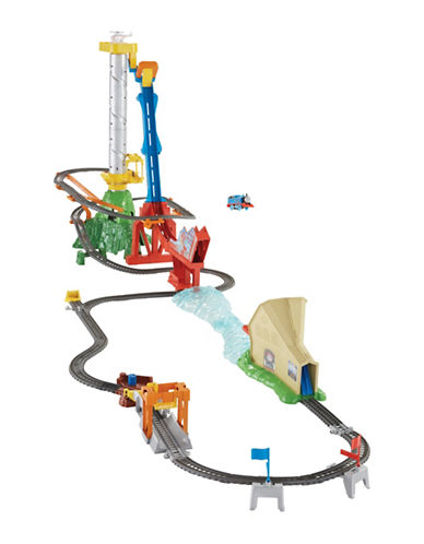 Fisher Price Thomas and Friends TrackMaster Sky-High Jump Set-MULTI-One Size