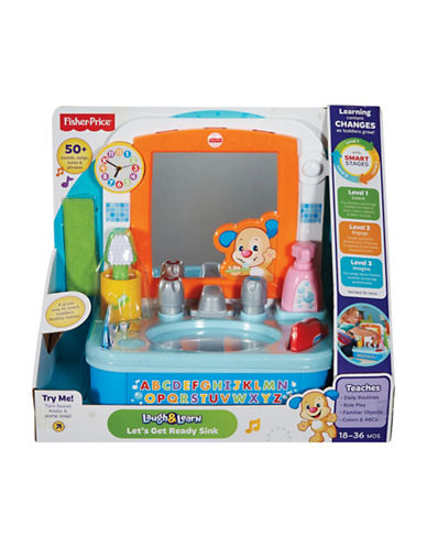 Fisher Price Get Ready Sink-MULTI-One Size