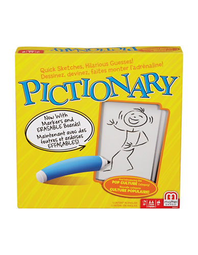 Mattel Pictionary Board Game-MULTI-One Size