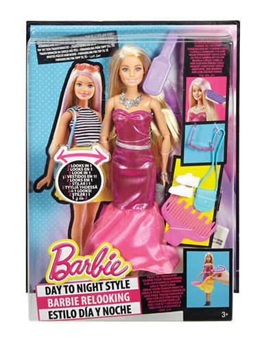 Barbie Barbie Day To Night Style Doll-MULTI-One Size