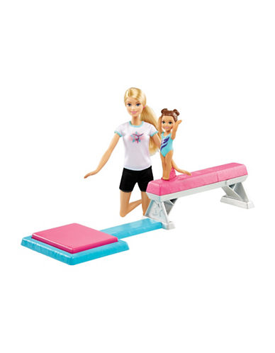 Barbie Flipping Fun Gymnast Doll and Playset-MULTI-One Size