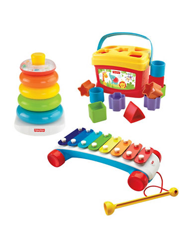 Fisher Price Infant Classics Gift Set-MULTI-One Size