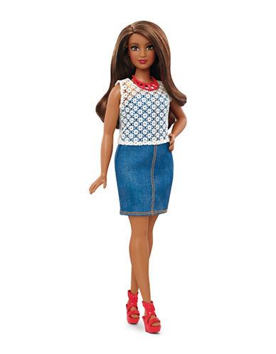Barbie Fashionistas Doll - 32 Dolled Up Denim-MULTI-One Size