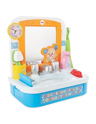Fisher Price Laugh and Learn Lets Get Ready Sink-MULTI-One Size