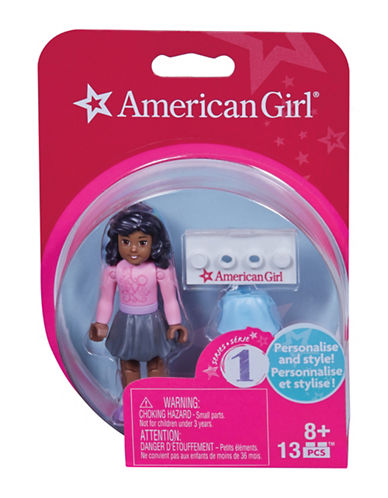 Mega Bloks American Girl American Girl Teal Appeal Mini Figure-MULTI-One Size