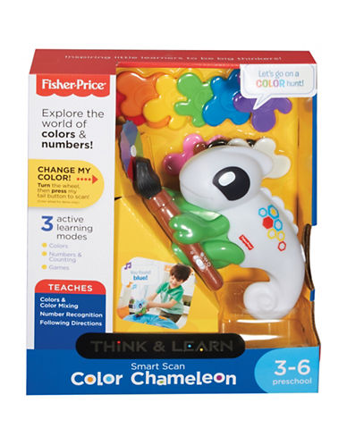 Fisher Price Think and Learn Smart Scan Colour Chameleon-MULTI-One Size