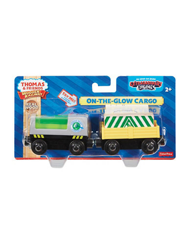 Fisher Price Thomas and Friends Wooden Railway On-the-Glow Cargo-MULTI-One Size