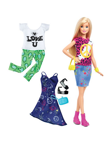 Barbie Fashionistas Doll - 35 Peace and Love-MULTI-One Size