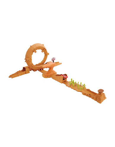 Cars Disney Pixar Cars 3 Willy's Butte Transforming Track Set-MULTI-One Size