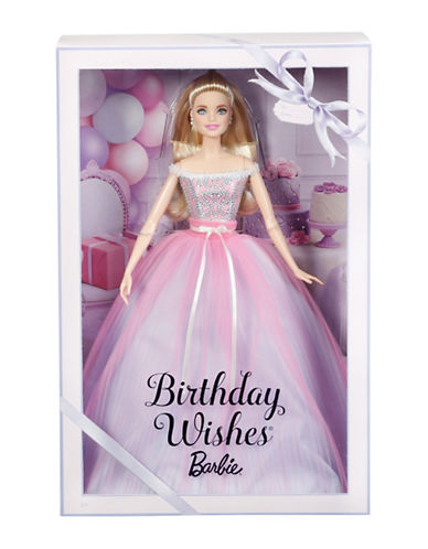 Barbie Birthday Wishes Doll-MULTI-One Size