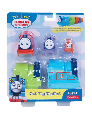 Fisher Price My First Thomas and Friends Nesting Engines-MULTI-One Size