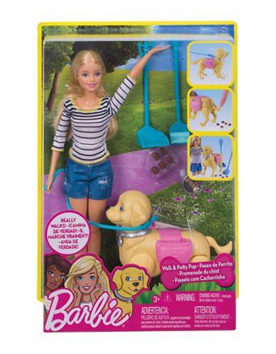 Barbie Barbie Walk and Potty Pup-MULTI-One Size