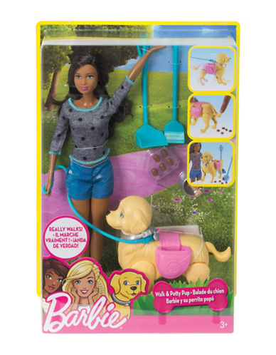 Barbie Walk and Potty Pup-MULTI-One Size