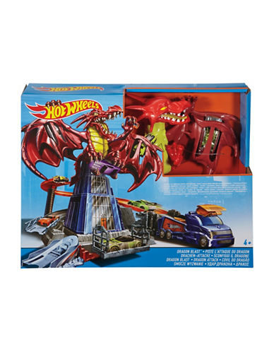 Hot Wheels Dragon Blast Play Set-MULTI-One Size