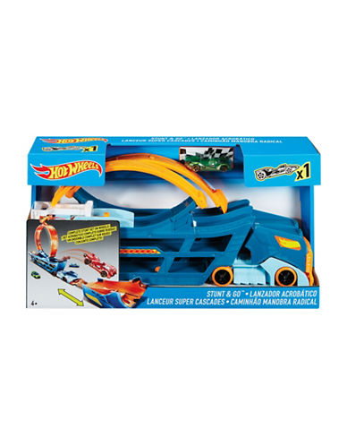 Hot Wheels Stunt and Go Mobile Play Set-MULTI-One Size