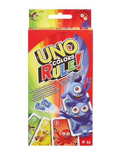 Mattel UNO Colours Rule-MULTI-One Size