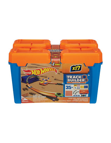 Hot Wheels Hot Wheels Track Builder Stunt Box Kit-ASSORTED-One Size