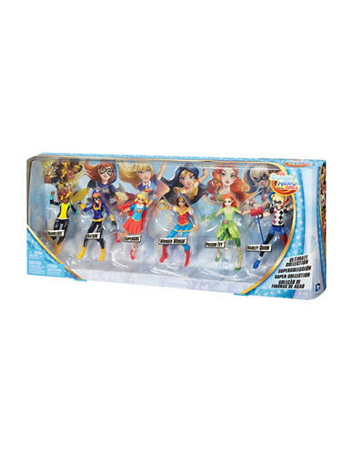 Dc Super Hero Girls Ultimate Collection Dolls-MULTI-One Size