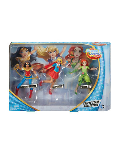 Dc Super Hero Girls Triple Team Collection Dolls-MULTI-One Size 89042828_MULTI_One Size