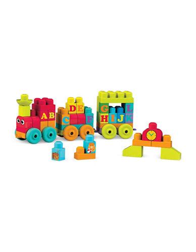 Mega Bloks Mega ABC Learning Train-MULTI-One Size