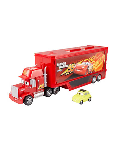 Cars Travel Time Mack Playset-MULTI-COLOURED-One Size
