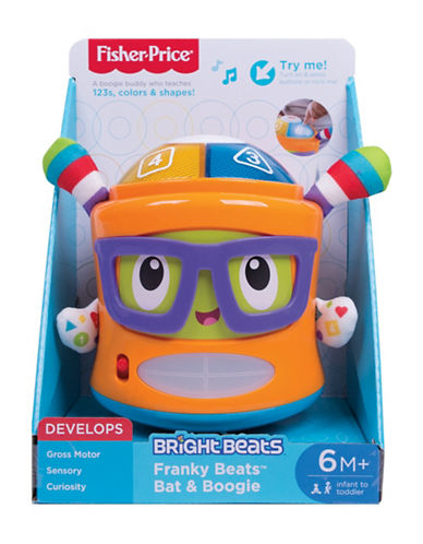 Fisher Price Franky Beats Bat and Boogie-MULTI-One Size
