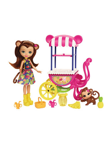 Enchantimals Enchantimals Fruit Cart Doll Set-MULTI-One Size