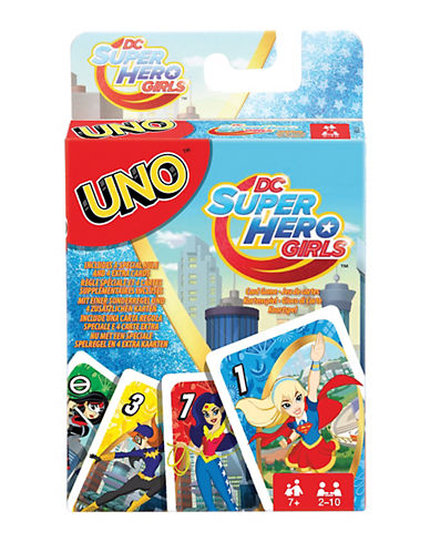 Mattel UNO DC Super Hero Girls Cards-MULTI-One Size