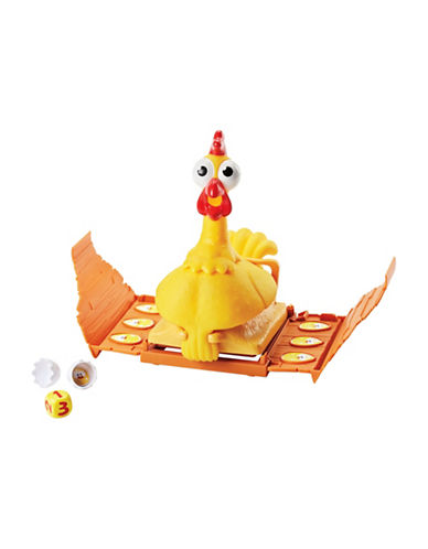 Mattel Squawk Chicken Game-MULTI-One Size