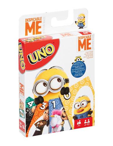 Mattel UNO Despicable Me Minion Made-MULTI-One Size