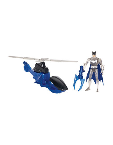 Justice League Justice League Action Batman and Batcopter Set-MULTI-One Size