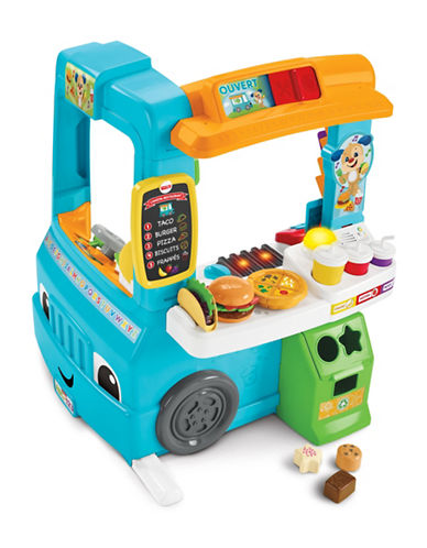 Fisher Price Laugh & Learn Servin Up Fun Food Truck-MULTI-One Size