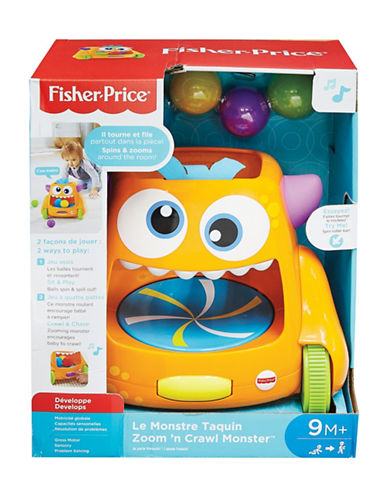 Fisher Price Zoom and Crawl Monster-MULTI-One Size