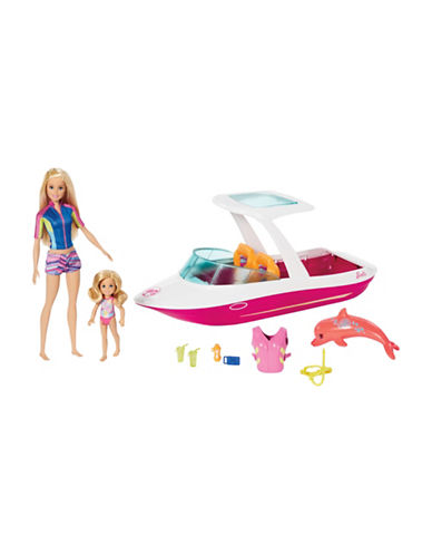 Barbie Barbie and Chelsea Ocean View Boat Playset-MULTI-One Size 89358665_MULTI_One Size