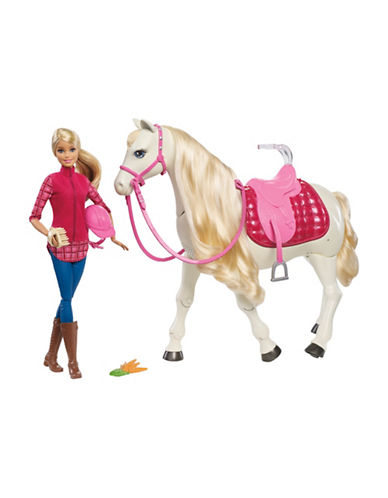 Barbie Dream Horse and Doll-MULTI-One Size