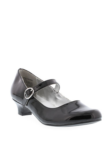 Kenneth Cole Reaction Shine Patent Mary Janes-BLACK-3