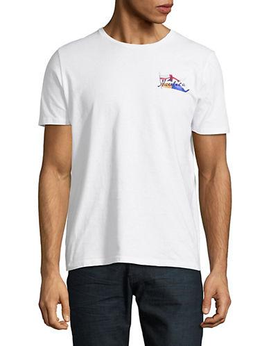 Nautica Sailing Flag Cotton T-Shirt-WHITE-Medium 90015967_WHITE_Medium