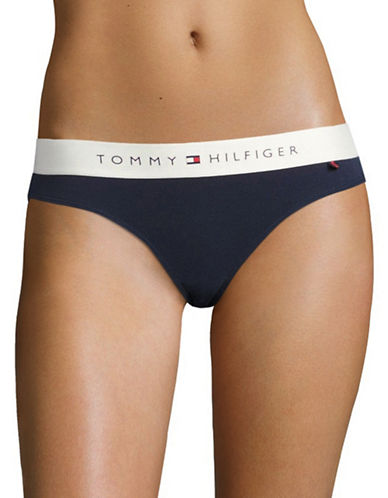 Tommy Hilfiger Lounge Bikini Panty-PEACOAT-Medium