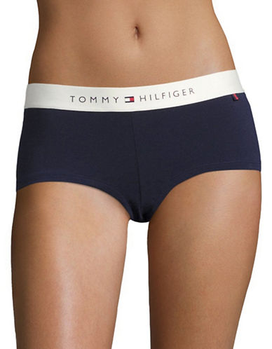 Tommy Hilfiger Lounge Boyshorts-PEACOAT-Small