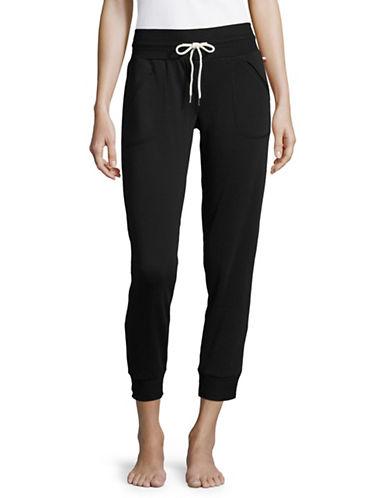 Tommy Hilfiger Core Jogger Pants-BLACK-Small 89617588_BLACK_Small