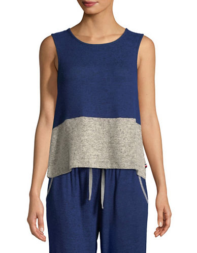 Tommy Hilfiger Colourblock Tank Top-LUSTER-Small
