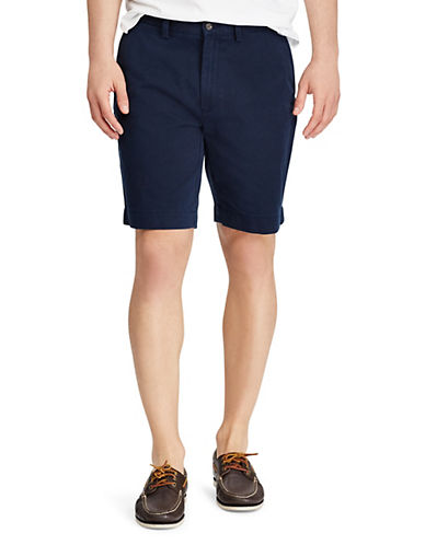 Polo Ralph Lauren Classic Fit Flat Front 9 Chino Short-AVIATOR NAVY-34