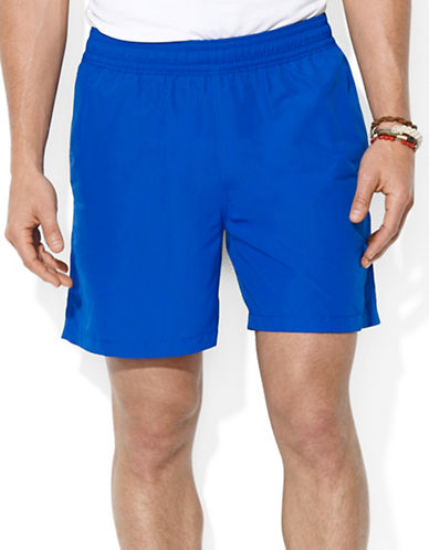 Polo Ralph Lauren Hawaiian Solid Swim Boxer-RUGBY ROYAL-Small