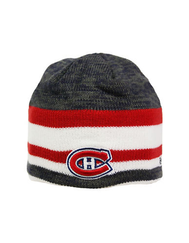 Reebok Center Ice Montreal Canadiens Team Beanie-RED-One Size